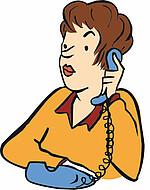 Frau Telefon